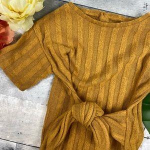 Zara Bottoms - Zara kids mustard yellow jumper jumpsuit coulette